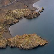 Lake Kleifarvatn, Reykjanes, Iceland.