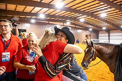 SCHUMACHER Julia (GER)<br /> Tryon - FEI World Equestrian Games™ 2018<br /> Reining Teamwertung und 1.Einzelqualifikation<br /> 12. September 2018<br /> © www.sportfotos-lafrentz.de/Stefan Lafrentz