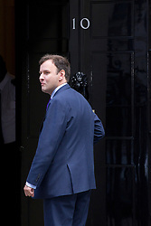 © Licensed to London News Pictures. 07/10/2013. London, UK. Conservative MP Greg Hands, the new Treasurer of HM Household (Deputy Chief Whip), is seen on Downing Street in London today (07/10/2013) during a ministerial shuffle. Photo credit: Matt Cetti-Roberts/LNP