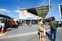 A general view of Sandy Park - Mandatory by-line: Robbie Stephenson/JMP - 29/09/2018 - RUGBY - Sandy Park Stadium - Exeter, England - Exeter Chiefs v Worcester Warriors - Gallagher Premiership Rugby