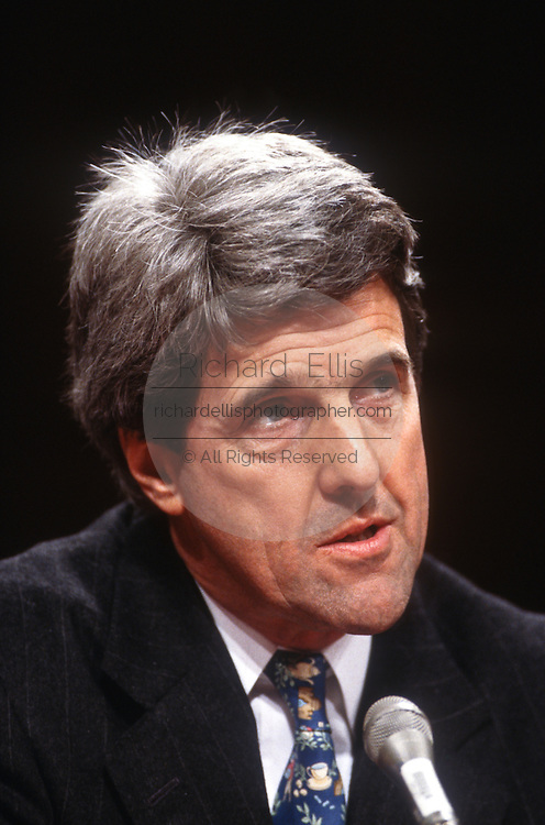 Senator John Kerry in Congress March 12, 1997 on human cloning.