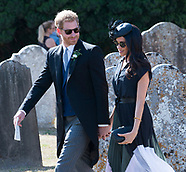 Meghan Markle & Prince Harry At Straubenzee Wedding