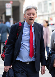 © Licensed to London News Pictures. 30/04/2019. London, UK. Leader of the Scottish Labour Party Richard Leonard MP arrives at Labour Party headquarters for National Executive Meeting at which Labour's position on a second EU vote will be decided. Photo credit : Tom Nicholson/LNP