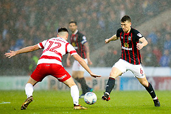 Richard Smallwood of Blackburn Rovers takes on Ben Whiteman of Doncaster Rovers - Mandatory by-line: Robbie Stephenson/JMP - 24/04/2018 - FOOTBALL - The Keepmoat Stadium - Doncaster, England - Doncaster Rovers v Blackburn Rovers - Sky Bet League One