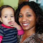 NLD/Ridderkerk/20121120 - Lancering Helden magazine nr.16, Deborah Gravenstijn en dochter Stacey