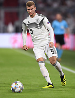 FUSSBALL UEFA Nations League in Muenchen Deutschland - Frankreich       06.09.2018 Timo Werner (Deutschland) --- DFB regulations prohibit any use of photographs as image sequences and/or quasi-video. ---