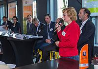 UTRECHT -  Janke van der  Werf (NGF) .   Algemene Ledenvergadering van de Nederlandse Golf Federatie NGF.   COPYRIGHT KOEN SUYK