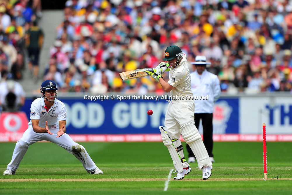 Phil Hughes (AUS)<br /> Australia vs England<br /> Cricket - Ashes Test 3 / Melbourne<br /> Melbourne Cricket Ground / MCG<br /> Sunday 26 December 2010<br /> &copy; Sport the library/Jeff Crow