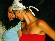 Dancing in Santa Fe, Havana, Cuba.