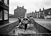 Moss Side skip - 1981<br />