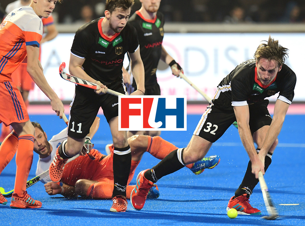 Odisha Men's Hockey World League Final Bhubaneswar 2017<br /> Match id:16<br /> Germany v Netherlands<br /> Foto: Niklas Bruns (Ger) <br /> COPYRIGHT WORLDSPORTPICS FRANK UIJLENBROEK