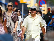 BARCELONA, SPAIN, 2016, JULY 11 <br /> <br /> Maria Sharapova with family Barcelona<br /> <br /> Maria Sharapova has traveled to Barcelona accompanied by her family where she enjoys a vacation after his forced absence at the Olympics in Rio de Janeiro for failing a doping test. Coincidentally, one of the favorite cities model born in Gerona, Andrés Velencoso, with whom she is associated sentimentally it is.