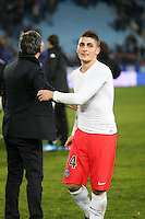 Deception Marco VERRATTI - 10.01.2015 - Bastia / Paris Saint Germain - 20e journee Ligue 1<br />