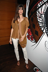 LISA B at a party hosted by Belvedere Vodka and Jade Jagger to launch The Belvedere Jagger Dagger cocktail held at Automat, Berkeley Street, London on 8th May 2008.<br />