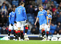 Fotball<br /> Skottland<br /> Foto: Colorsport/Digitalsport<br /> NORWAY ONLY<br /> <br /> Football - Scottish Premier League - Rangers vs. Dunfermline<br /> <br /> Thomas Kind Bendiksen of Rangers prepare to start the match during the Rangers vs. Dunfermline Scottish Premier League match at Ibrox Stadium Glasgow on December 3rd 2011