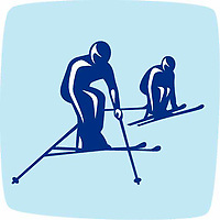 OLYMPIC GAMES VANCOUVER 2010 - VANCOUVER (CAN) - PHOTO : VANOC/COVAN / DPPI<br /> PICTOGRAMS - SKI CROSS