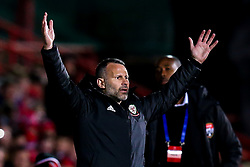 Wales head coach Ryan Giggs - Mandatory by-line: Robbie Stephenson/JMP - 20/03/2019 - FOOTBALL - The Racecourse Ground - Wrexham, United Kingdom - Wales v Trinidad and Tobago - International Challenge Match