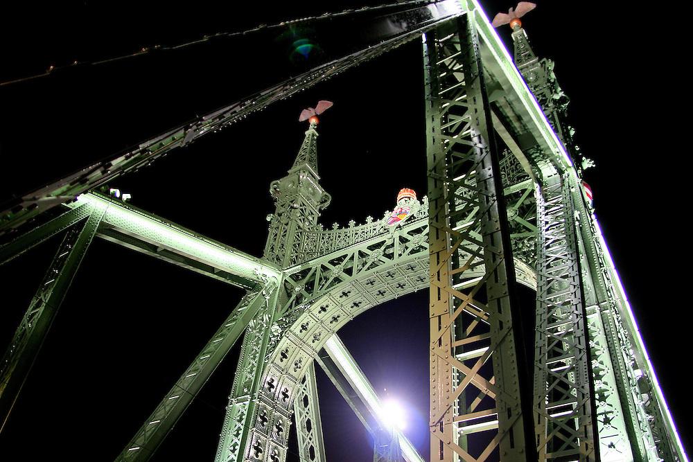 Budapest, Europe, Hungary, Bridges, Liberty Bridge, Szabadság Híd, Danube