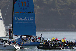 October 28, 2017 - Lisbon, Portugal - Vestas 11th Hour Racing boat wins Leg 1 from Alicante to Lisbon during the Volvo Ocean Race 2017-2018, in Lisbon, Portugal on October 28, 2017. Photo: Pedro Fiuza (Credit Image: © Pedro Fiuza via ZUMA Wire)