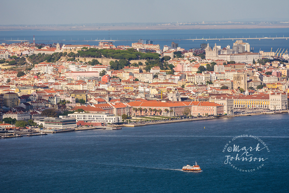 Lisbon and the Tagus River, Portugal