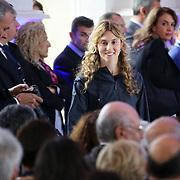Il ministro Marianna Madia al primo Italian Digital Day, incontri e dibattiti dedicati all'innovazione digitale in Italia organizzato alla Reggia di Venaria Reale (TO) 21/11/2015