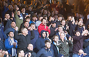 Dundee fans - Dundee v Rangers in the Ladbrokes Scottish Premiership at Dens Park, Dundee.Photo: David Young<br /> <br />  - © David Young - www.davidyoungphoto.co.uk - email: davidyoungphoto@gmail.com