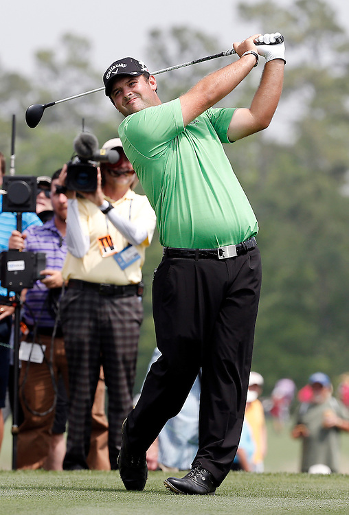 Patrick Reed drives off of the third tee in the Shell Houston Open-Round 1 at the Golf Club of Houston on Wednesday, March 31, 2016 in Humble, TX. (Photo: Thomas B. Shea/For the Chronicle)