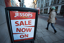 © licensed to London News Pictures. London, UK 09/01/2013. Photography retailer Jessops set to go into administration on 09/01/12 according to reports. More than 200 stores owned by Jessops in the UK, it was announced earlier in the week that several would be closing after not meeting sales targets. Photo credit: Tolga Akmen/LNP