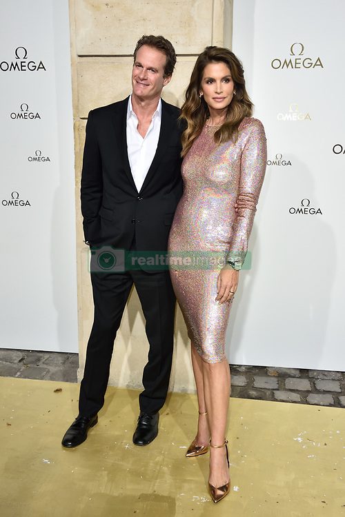 Rande Gerber and Cindy Crawford attending Her Time Omega photocall as part of the Paris Fashion Week Womenswear Spring/Summer 2018 on September 29, 2017 in Paris, France. Photo by Alban Wyters/ABACAPRESS.COM