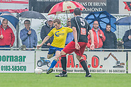 Voetbal Hoornaar Hoofdklasse B 2013-2014 SteDoCo - Staphorst: L-R Martijn Brakke van Staphorst