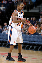 Virginia Cavaliers G Sean Singletary (44)..The Virginia Cavaliers men's basketball team defeated the Carson-Newman Eagles 124-65 in an exhibition basketball game at the John Paul Jones Arena in Charlottesville, VA on November 4, 2007.