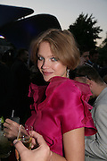 NATALIA VODIANOVA. The Summer Party in association with Swarovski. Co-Chairs: Zaha Hadid and Dennis Hopper, Serpentine Gallery. London. 11 July 2007. <br /> -DO NOT ARCHIVE-© Copyright Photograph by Dafydd Jones. 248 Clapham Rd. London SW9 0PZ. Tel 0207 820 0771. www.dafjones.com.