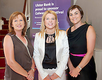 Tina  McDermott, Gentian Hill, <br /> Audrey Kinahan University Pharmacy<br /> and Joan O Rourke Ulster Bank,