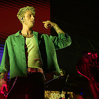 Machine Gun Kelly in concert at SWG3, Glasgow, Great Britain 26th August 2019