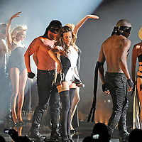 MANCHESTER, UK.<br /> Girls Aloud perform at the M.E.N. Arena on the first night of their new tour on Friday 24th April 09.<br /> ***NOTE TO EDITORS: PICTURES SHOT FROM THE AUDITORIUM WITHOUT VENUE PRESS ACCREDITATION***<br /> PHOTO BY TERRY KANE www.eyewitnessimages.co.uk