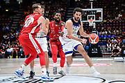 Vitali Luca<br /> A X Armani Exchange Olimpia Milano - Germani Basket Brescia<br /> Basket Serie A LBA 2019/2020<br /> MIlano 29 September 2019<br /> Foto Mattia Ozbot / Ciamillo-Castoria