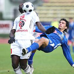 20081026: Football - Soccer - PrvaLiga Telekom Slovenije, NK Labod Drava vs NK Interblock