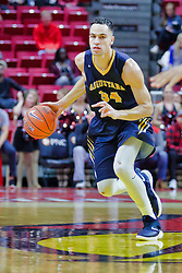 NORMAL, IL - November 03: Brett Benning during a college basketball game between the ISU Redbirds  and the Augustana Vikings on November 03 2018 at Redbird Arena in Normal, IL. (Photo by Alan Look)