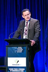 Mr Maurice James, Managing Director, Qube Holdings Ltd. Day 2. ALC Forum 2014. Australian Logistics Council. Royal Randwick Racecourse. Sydney. Photo: Pat Brunet/Event Photos Australia