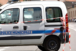 A man who seized four people in a bank in the southern French city of Toulouse has released one hostage, police say.Officials say the gunman first demanded money. When he was refused, a shot was fired and hostages taken.<br /> <br /> The man, saying he was linked to al-Qaeda, demanded to speak to the elite Raid police unit that shot Islamist gunman Mohamed Merah. Merah, who claimed al-Qaeda training, killed seven people in Toulouse before he was shot dead by police in March.<br /> <br /> There are no reports of injuries in the incident so far.<br /> <br /> The man went into the branch of the CIC bank at 10:10 local time (08:10 GMT), taking the manager and three other people hostage, French media say. Toulouse, France, 20th June 2012.<br /> Eoin Mundow/Cleva Media