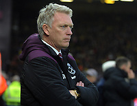 Football - 2017 / 2018 Premier League - Watford vs. West Ham United<br /> <br /> West ham new Manager,David Moyes , at The London Stadium.<br /> <br /> COLORSPORT/ANDREW COWIE