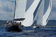 FRANCE, St Tropez. 1st October. Voiles de St Tropez. J Class, Race 3.