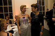 carolina herrera; princess firyal, Nicky Haslam party for Janet de Botton and to celebrate 25 years of his Design Company.  Parkstead House. Roehampton. London. 16 October 2008.  *** Local Caption *** -DO NOT ARCHIVE-© Copyright Photograph by Dafydd Jones. 248 Clapham Rd. London SW9 0PZ. Tel 0207 820 0771. www.dafjones.com.
