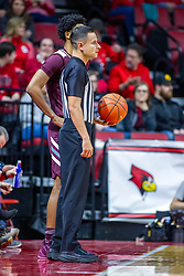 NORMAL, IL - January 07: Chance Moore during a college basketball game between the ISU Redbirds and the University of Missouri State Bears on January 07 2020 at Redbird Arena in Normal, IL. (Photo by Alan Look)