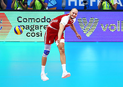 September 30, 2018 - Turin, Italy - Poland v Brazil - FIVP Men's World Championship Final.Bartosz Kurek of Poland at Pala Alpitour in Turin, Italy on September 30, 2018. (Credit Image: © Matteo Ciambelli/NurPhoto/ZUMA Press)