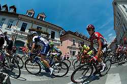 Clara Koppenburg (GER) of Bigla Team and Carlee Taylor (AUS) of Lotto Soudal Ladies during the Stage 1 (102,5 km) from Kamnik to Ljubljana at 26th Giro Rosa 2015 Women cycling race, on July 4, 2015 in Kamnik,  Slovenia. Photo by Vid Ponikvar / Sportida