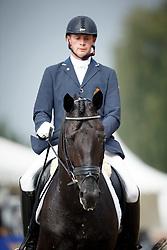Heylen Tom, (BEL), Jar of Ballmore<br /> First Qualifier 6 years old horses<br /> World Championship Young Dressage Horses - Verden 2015<br /> © Hippo Foto - Dirk Caremans<br /> 07/08/15