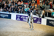 Peder Fredricson and Catch Me Not S third in the world cup final<br /> FEI World Cup Final Gothenburg 2019<br /> © DigiShots