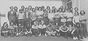 Nenagh CBSLC Class 1973, front (kneeling), James Hogan, Michael Mulqueen, Bary O'Riordan, Brian Chadwick, Frank Fitzhenry, Denis Meehan, John Hackett, Martin Quigley, Pat Kelly, Plunket Mallon, Ger Curtin, second row, Jim Ryan, Derry Hassey, Enda Bourke, John Sherlock, Tomas Shoer, Con Carey, John Ryan, J J Flannery, Denis Darcy, Michael Brophy, John Mackey, Michael Darcy, David Moynan, Joe Sherlock, back row, John Healy, Wm A (Bill) Dooley, Nial O'Meara, Joseph Ryan, John Ryan, John Kennedy, Michael Gleeson, Tony McCarthy, Robert Lewis and Donal Hegarty ( pics by W JH)