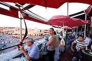 MAROC, Marrakesh: palce Jemaa El Fna Morocco